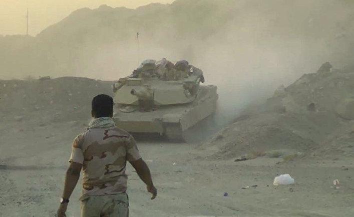 Иракские военные готовятся атаковать позиции Исламского государства (запрещена в РФ) рядом с городом Эль-Фаллуджа