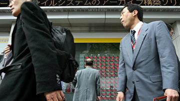 Улица в центре Токио