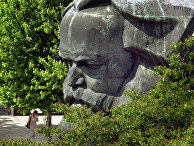 Памятник Карлу Марксу в городе Хемниц