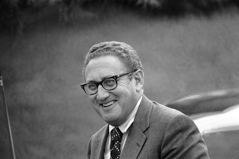 Советник по национальной безопасности США Генри Киссинджер в 1972 году