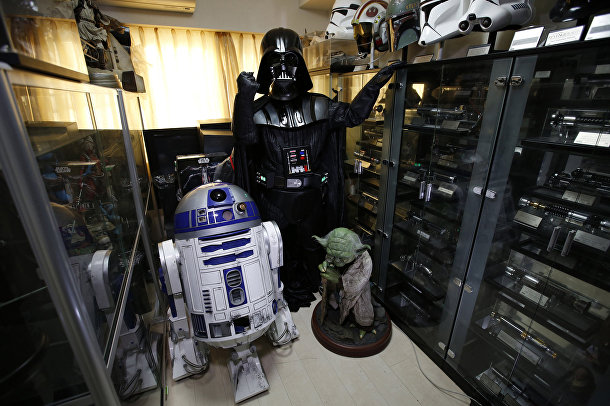Фанат «Звездных войн» Тестуюки Накагава