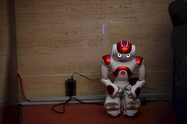 Человекоподобный робот NAO