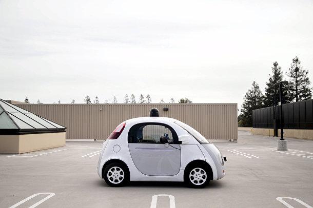 Прототип беспилотного автомобиля Google