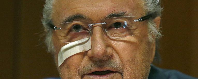 Бывший глава ФИФА Зепп Блаттер