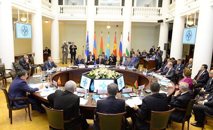 Заседание Совета Парламентской Ассамблеи ОДКБ
