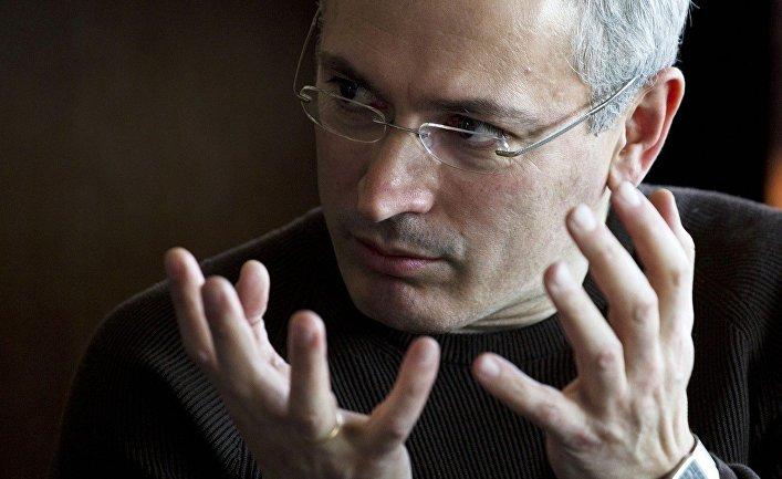 Бывший глава компании «ЮКОС» Михаил Ходорковский