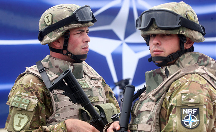 Открытие тренировочного центра НАТО в Грузии