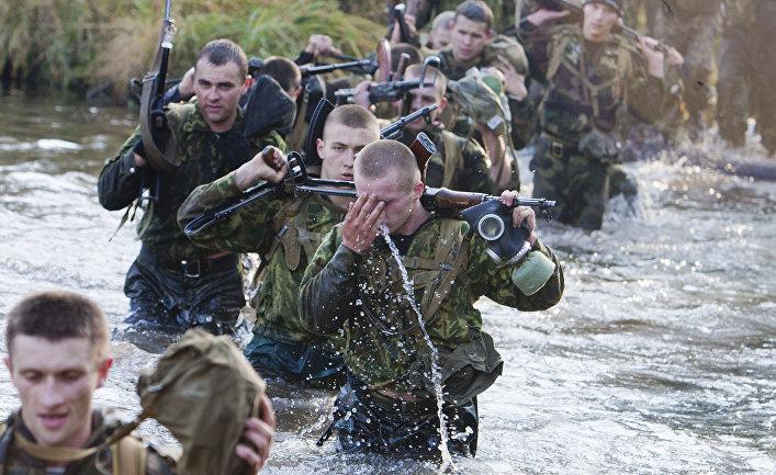 Квалификационные испытания белорусского спецназа на право ношения крапового берета