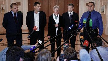 Встреча трехсторонней контактной группы в Минске