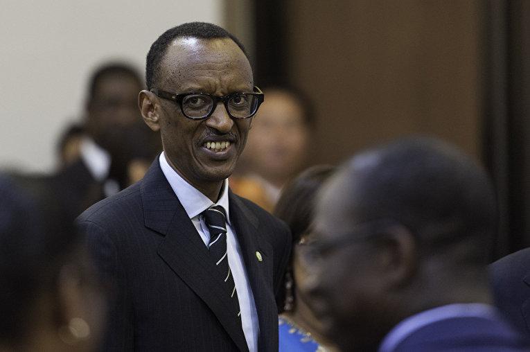 Президент Руанды Поль Кагаме
