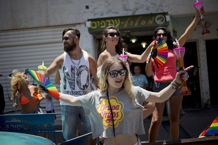 Гей-парад в Тель-Авиве