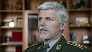 Официальный представитель НАТО чешский генерал Петр Павел
