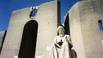 В старой части города Эрбиль - столицы Курдистана на севере Ирака. Архив