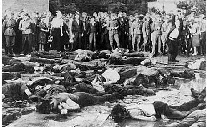 Жертвы бойни в Каунасе 25—27 июня 1941 года