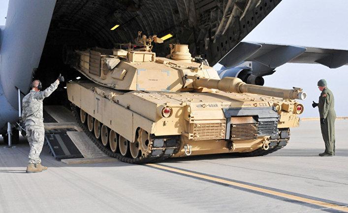 Американский танк Abrams M1A2 SEP (V2)