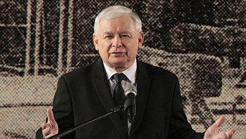 Лидер партии «Право и справедливость» Ярослав Качиньский