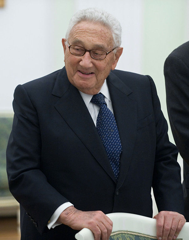 Бывший госсекретарь США Генри Киссинджер