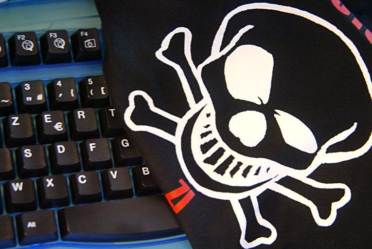 Рисунок на майке в первой школе хакеров «Zi HackAdemy»