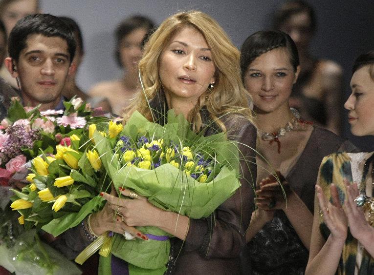 Гульнара Каримова в Москве