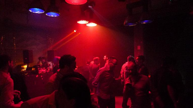Вечеринка в одном из клубов в Берлине
