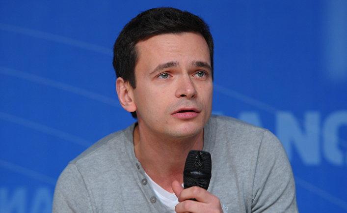 """Илья Яшин, один из лидеров движения """"Солидарность"""""""