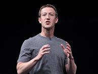 Основатель Facebook Марк Цукерберг