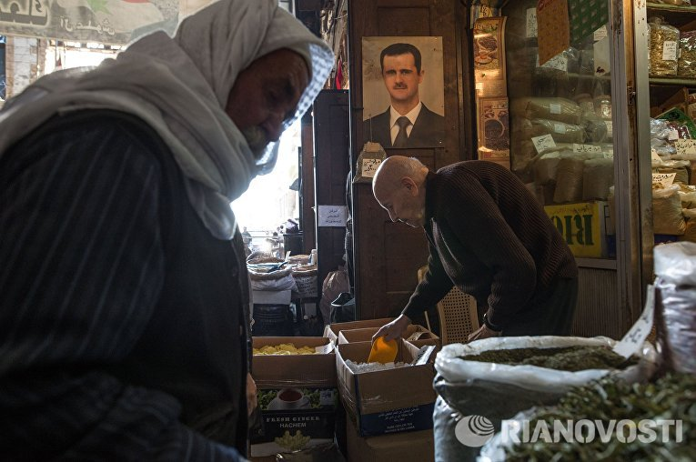 Рынок в Старом городе Дамаска