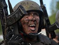 Испытания военнослужащих подразделений специального назначения МВД РФ на право ношения крапового берета