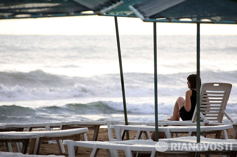 Пляж Сиде в Турции