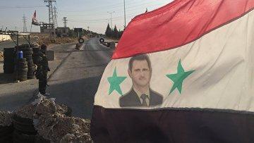 Военнослужащий сирийской армии в провинции Хама