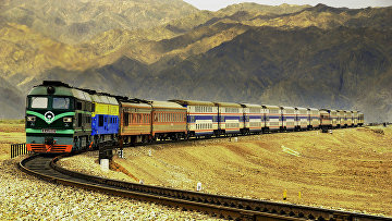 Железная дорога в Китае