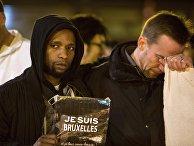 В Брюсселе почтили память погибших во время терактов