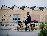 Разносчик газет в Швеции