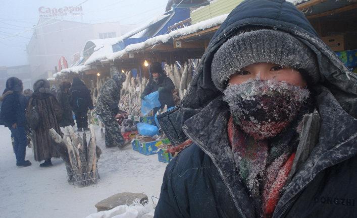 На Крестьянском рынке в Якутске