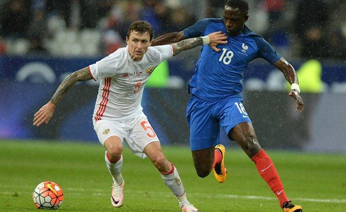 Футбол. Товарищеский матч. Франция - Россия