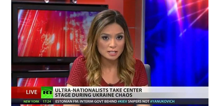 Ведущая RT Лиз Уол, уволившаяся с телеканала в прямом эфире