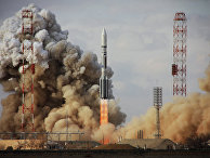 """Пуск ракеты """"Протон-М"""" со спутником Intelsat-22"""