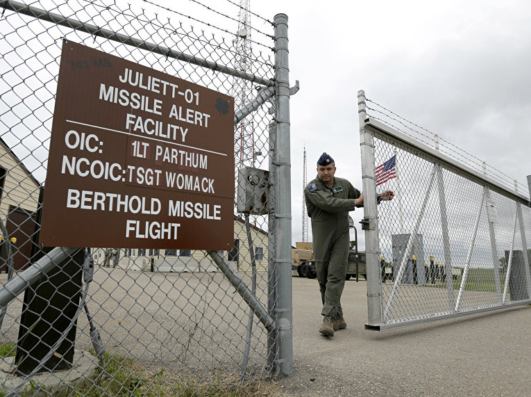 Военная база в США