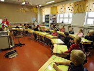 Начальная школа в городе Вааса