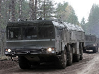 Учения по развертыванию ракетного комплекса «Искандер»