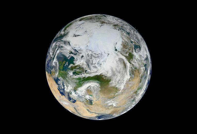 Фотография планеты Земля