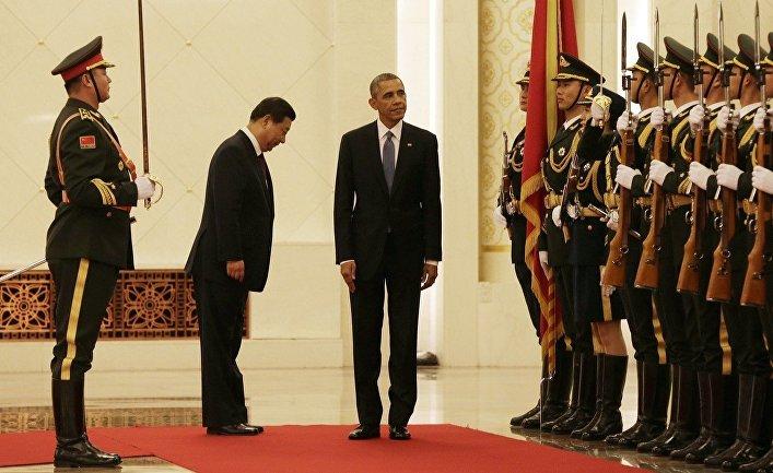 Президент США Барак Обама и председатель КНР Си Цзиньпин, визит американского президента в Китай