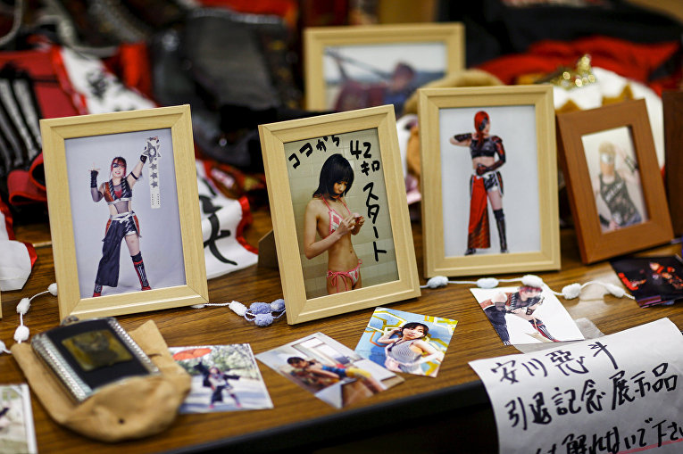 Женский реслинг в Японии