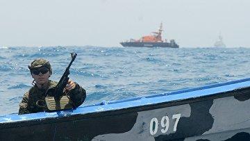 Учения наркополиции России и стран Латинской Америки «Шторм-2014» в Карибском море