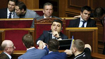 Новый премьер-министр Украины Владимир Гройсман