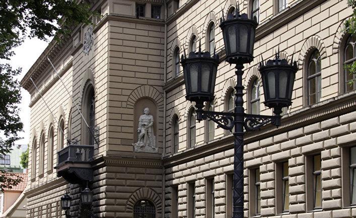 Здание Сейма в Риге