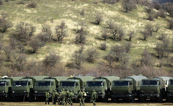 Российские вооруженные силы в Крыму