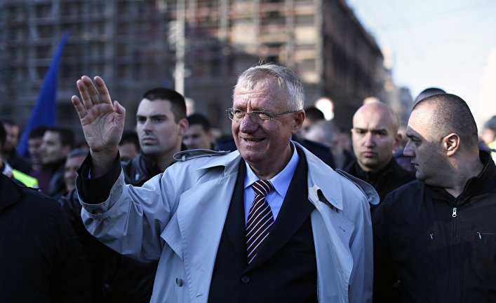 Сербский политик Воислав Шешель