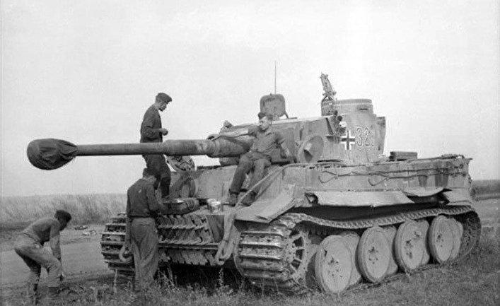 Танк «Тигр» на Восточном фронте, 1943 год