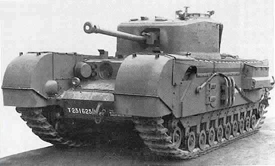 Пехотный танк армии Великобритании Mk IV «Черчилль»